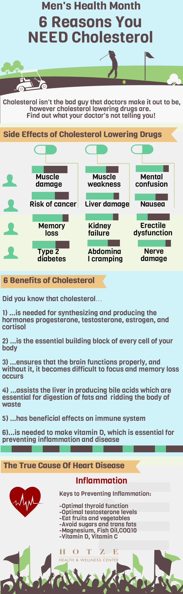 6 Reasons You Need Cholesterol