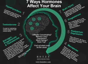 7 Ways Hormones Affect Brain Health