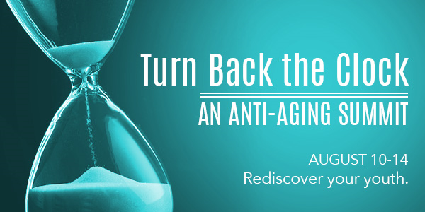 Turn Back The Clock - An Anti-Aging Summit