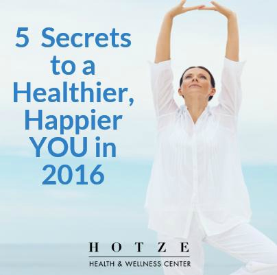 5 Secrets to a Healthier, Happier YOU in 2016