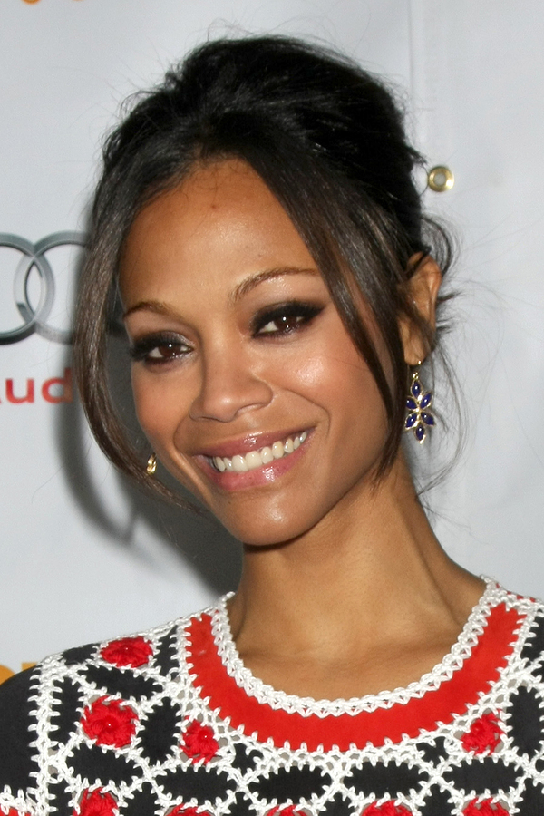 Actress Zoe Saldana has Hashimoto's Thyroiditis