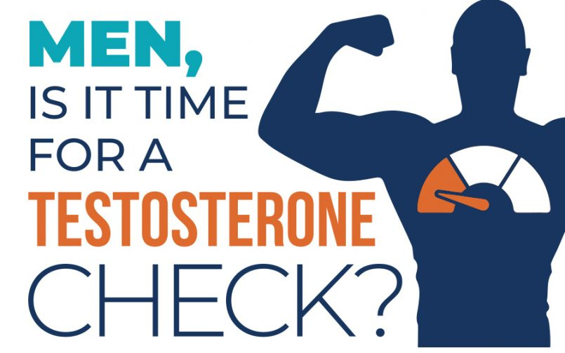 Men, Is it Time for a Testosterone Check?