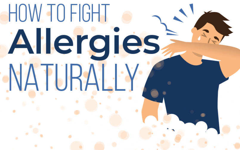 How to Fight Allergies Naturally Infographic