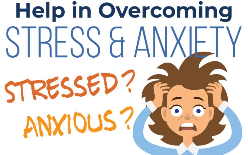 Help in Overcoming Stress and Anxiety Infographic