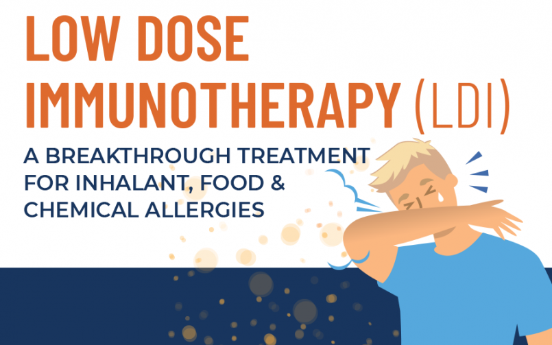 Graphic on Low Dose Immunotherapy